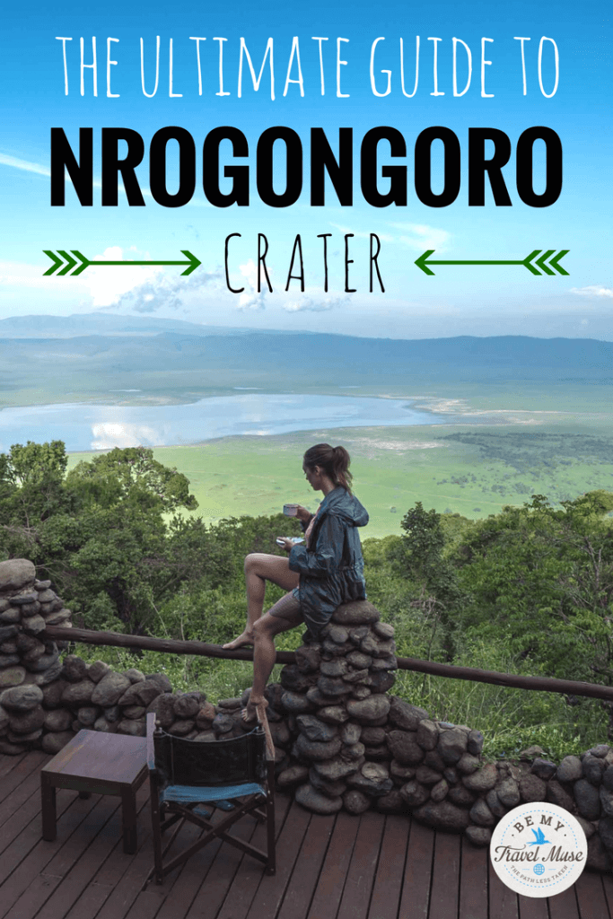 Essential tips for the best chance of seeing wildlife (like rhinos, lions, and elephants), where to stay, & who to go with for the Ngorongoro Crater.