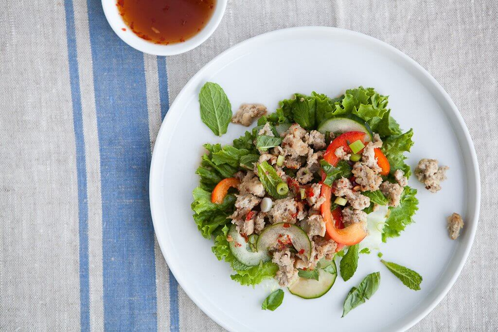Larb Vegetarian Dishes in Southeast Asia