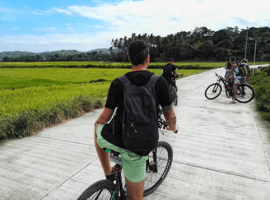 bike ride bantayan island philippines