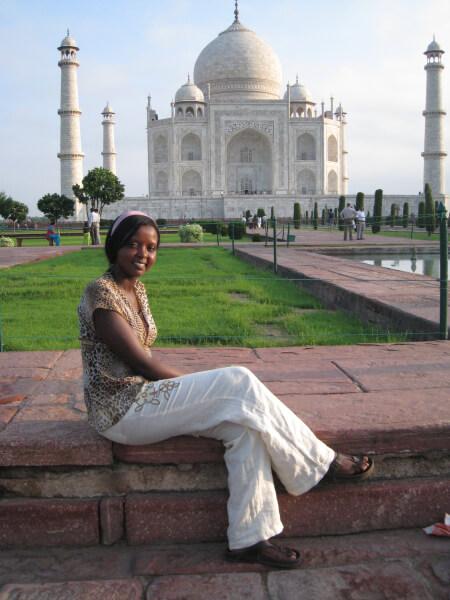 african solo female traveler