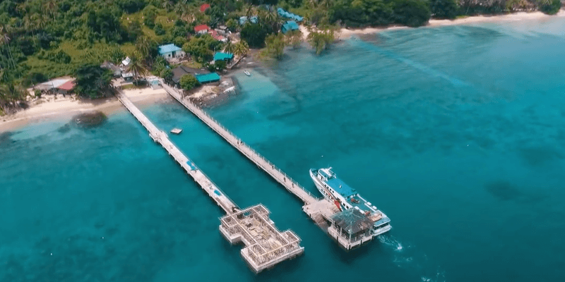 tioman jetty malaysia