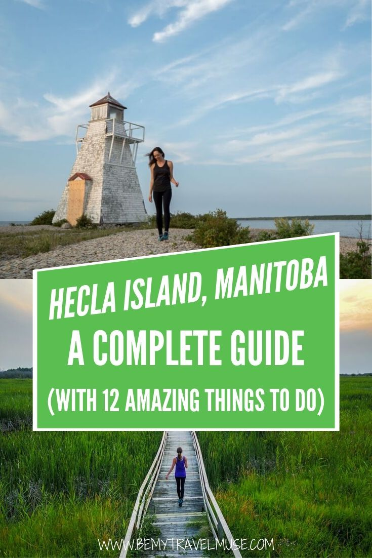An awesome guide to Hecla Island in Hecla-Grindstone Provincial Park, Manitoba, Canada. So many amazing things to do in this beautiful island, plus tips on where to eat and sleep | Canada travel tips