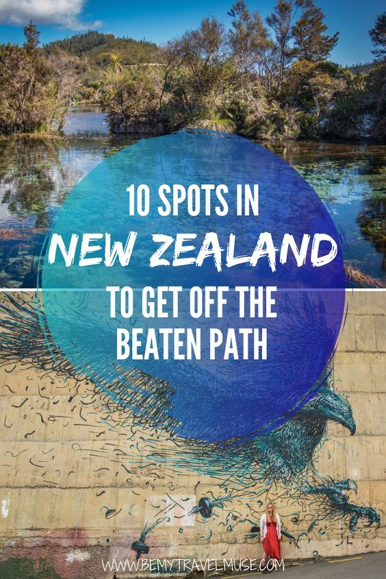 Want to get off the beaten path in New Zealand? Liz Carlson of Young Adventuress share her favorite spots all over New Zealand - some iconic, like Mt. Cook and Tongariro National Park; others lesser-known. Click to read now! #NewZealand