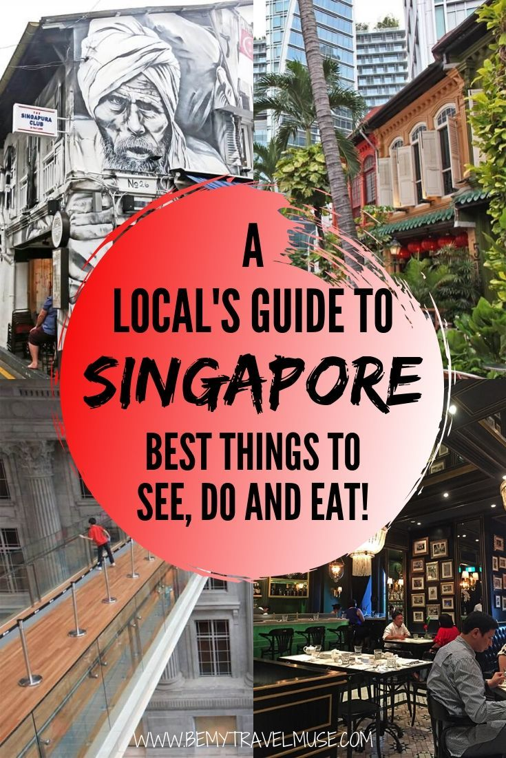 A local's complete 3-day guide to Singapore including things to do and see, best restaurants and bars, tips for transportation and getting around + best local dishes to try.  #singapore