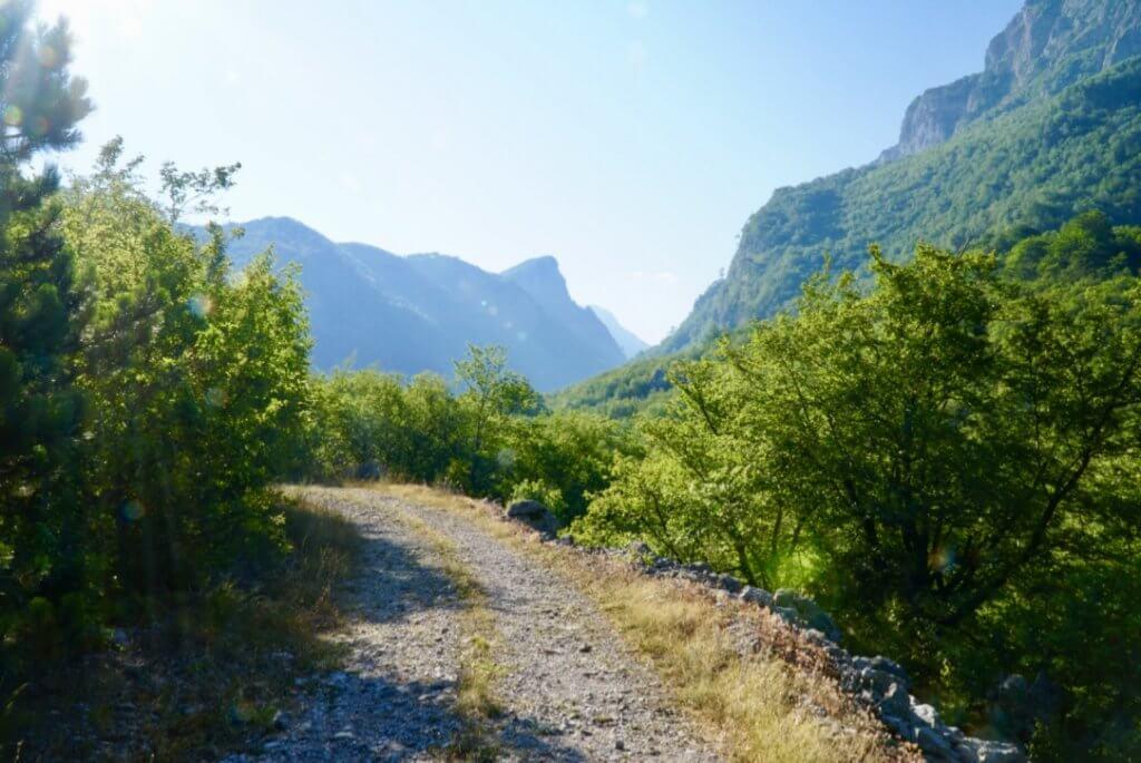 via dinarica trail