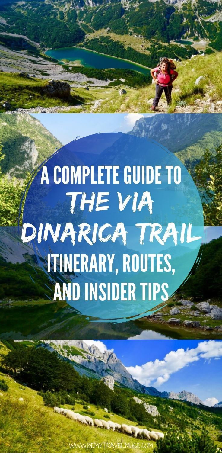 A 10-day trek itinerary on The Via Dinarica Trail (VDT), starting from Bosnia-Herzegovina and passing by national parks, alpine lakes, and mountain huts.
