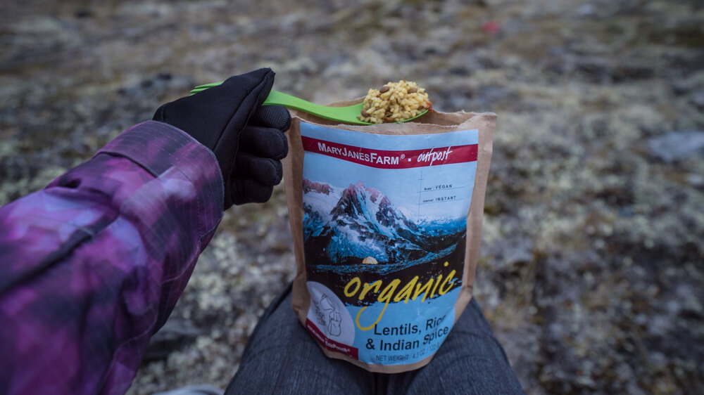 best instant backpacking meals