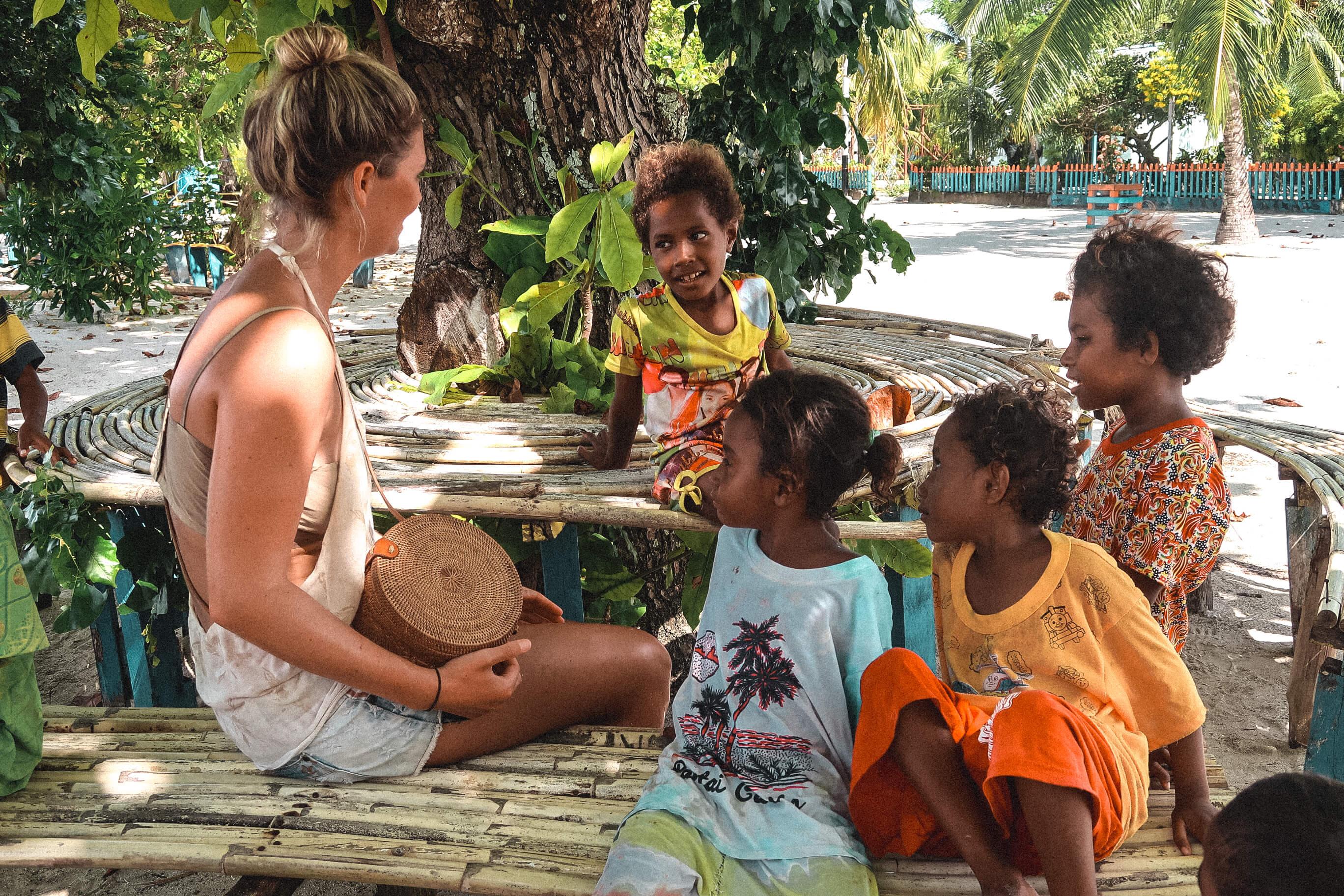 Arborek Girls Raja Ampat