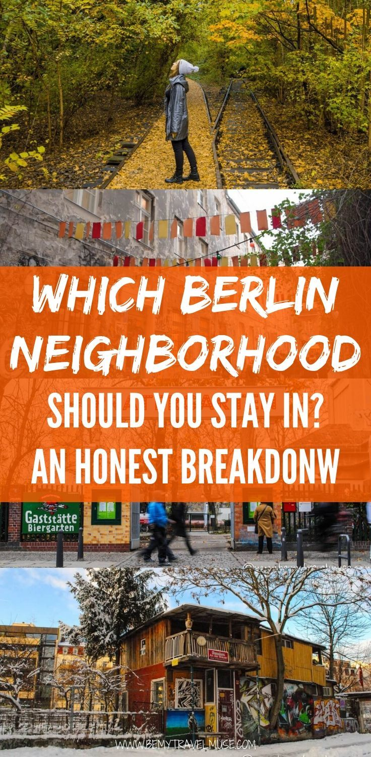 Heading to Berlin and not sure which neighborhood is best to stay in? Berlin offers something for everyone! This guide offers an overview of each major Berlin neighborhood, as well as what each area is known for and major attractions that are within reach. Practical tips for your trip to Germany. | Be My Travel Muse #Berlin #Germany
