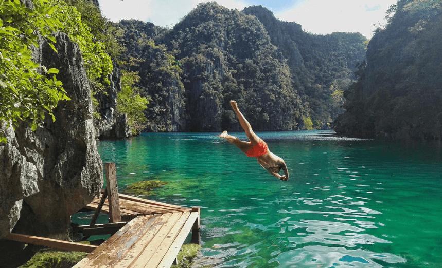 Philippines barracuda lake