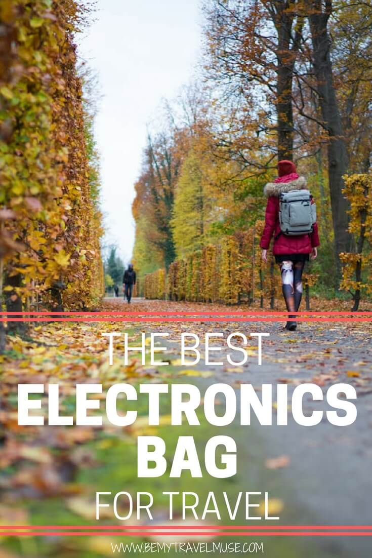 The best electronics bag for travel | Pacsafe electronics bag | Best bag for electronics gadget | Travel electronics bag | Digital nomad lifestyle | Be My Travel Muse #DigitalNomad #TravelElectronicsBag #Pacsafe