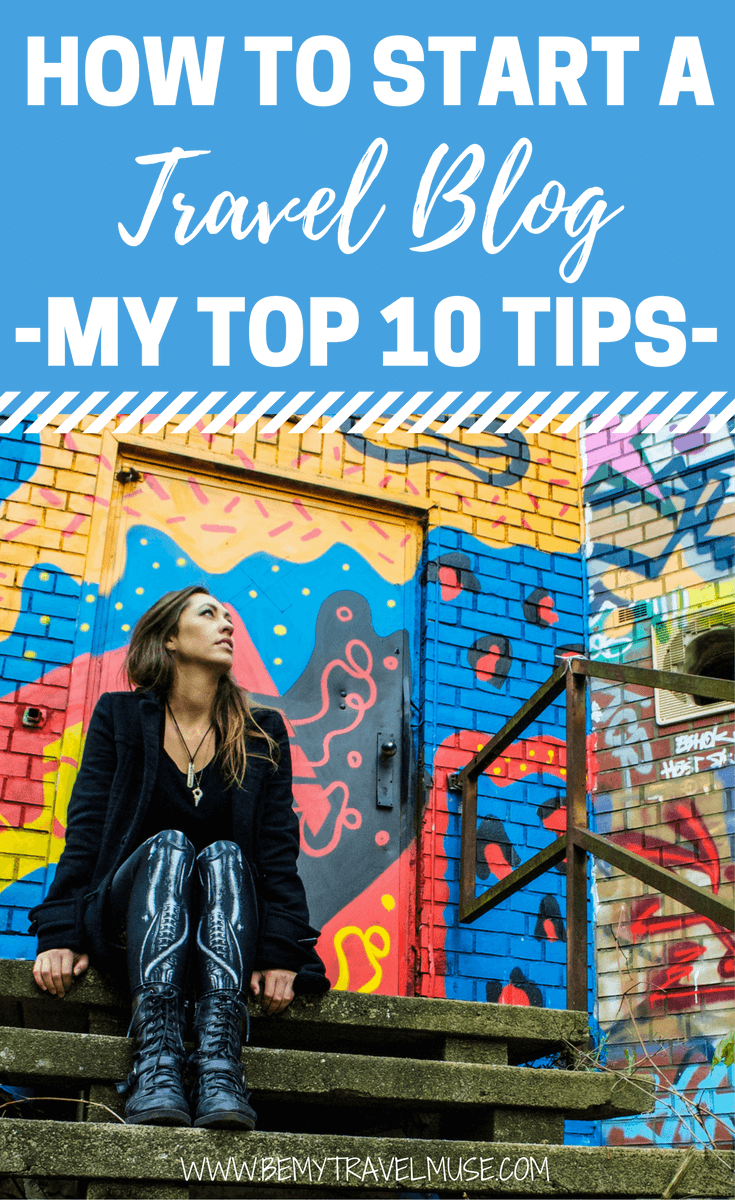 how to become a travel blogger and make money