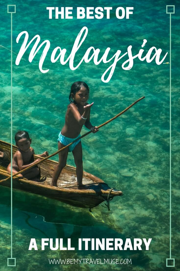 The ultimate guide to backpacking Malaysia, with 17 spots worth checking out (some of them are off the beaten path!) Packing, budget, accommodation tips included | Be My Travel Muse