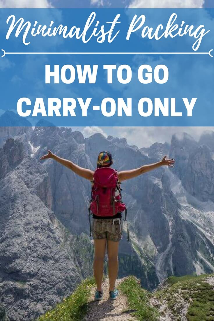 After traveling around the world solo for over 5 years, I've mastered the art of minimalist packing. Learn how to go carry-on only for your travels | Minimalist packing tips | travel packing list for solo female travelers | travel packing tips and hacks | Be My Travel muse