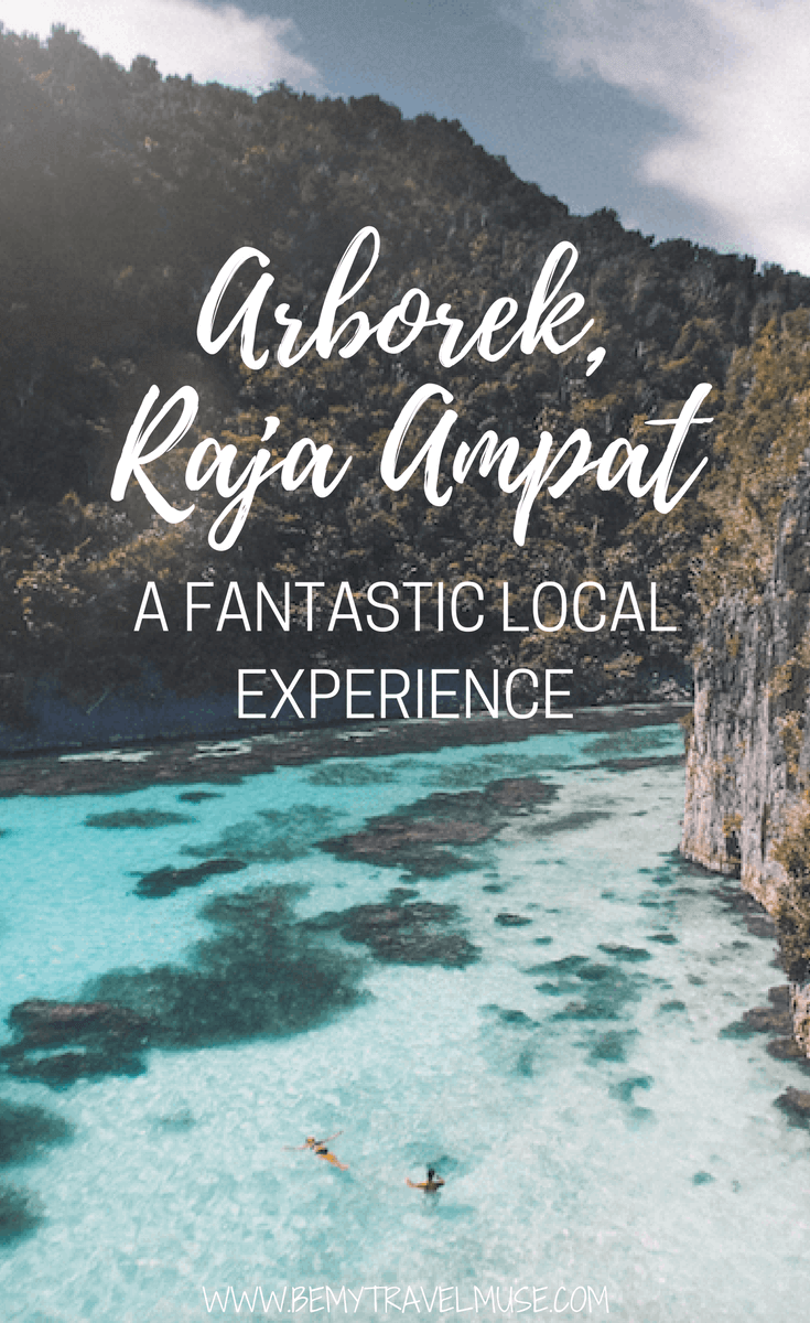 Check out Arborek, Raja Ampat, a beautiful place that offers fantastic local experience. Crystal clear water, beautiful beach, friendly locals, what more can you ask for? (photos + video!) | Raja Ampat off the beaten path | Indonesia travel tips | Be My Travel Muse