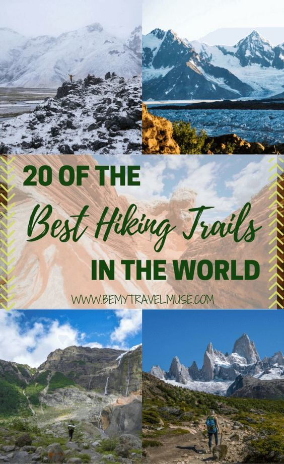 20 of the Best Hiking Trails in the World, From Kyrgyzstan to Patagonia, South Africa, the Swiss Alps, the American Southwest, and so many amazing things in-between, here are a few of the best hiking trails in the world. #hiking