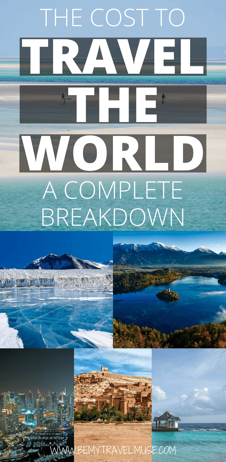 Ready to travel the world? Here's a comprehensive budget guide to EVERYWHERE in the world - the Americas, Europe, Asia, Africa, Oceania, Middle East, and even Antartica. Have an awesome RTW trip!