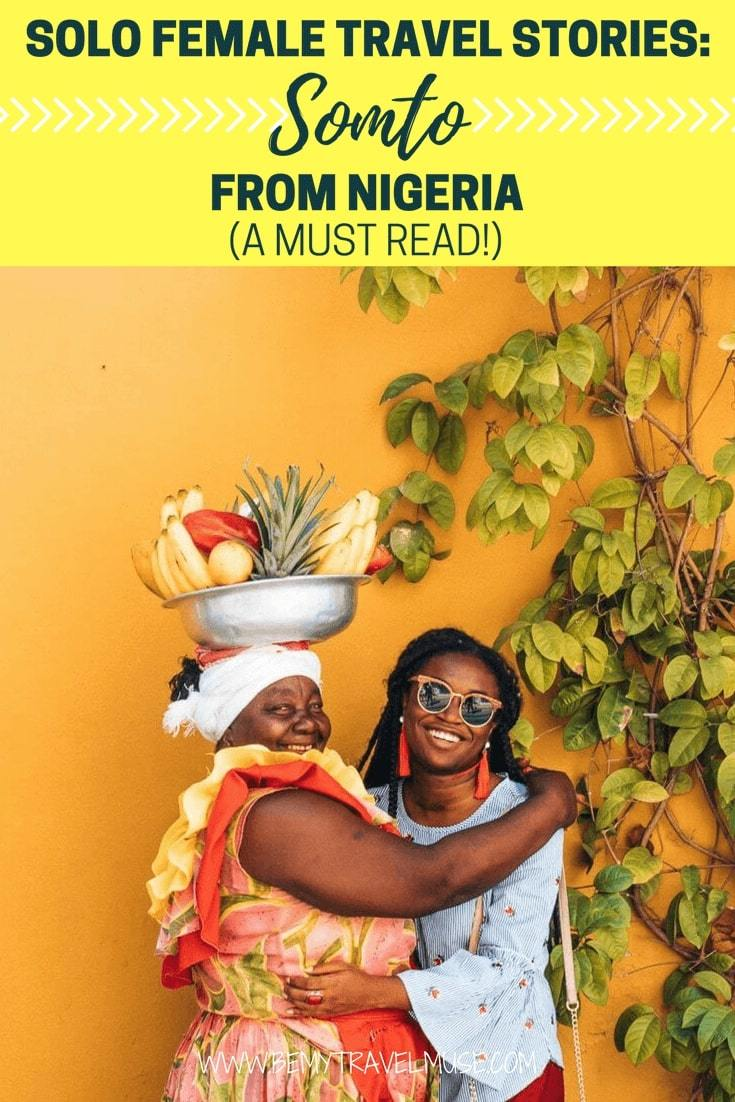 Incredible story of Somto, a Nigerian born solo female traveler who fought depression and stereotype as an African American traveler. Her story is a must read!