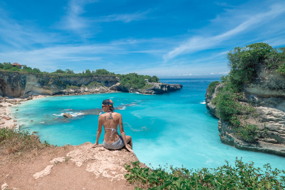 The Blue Lagoon on Nusa Ceningan