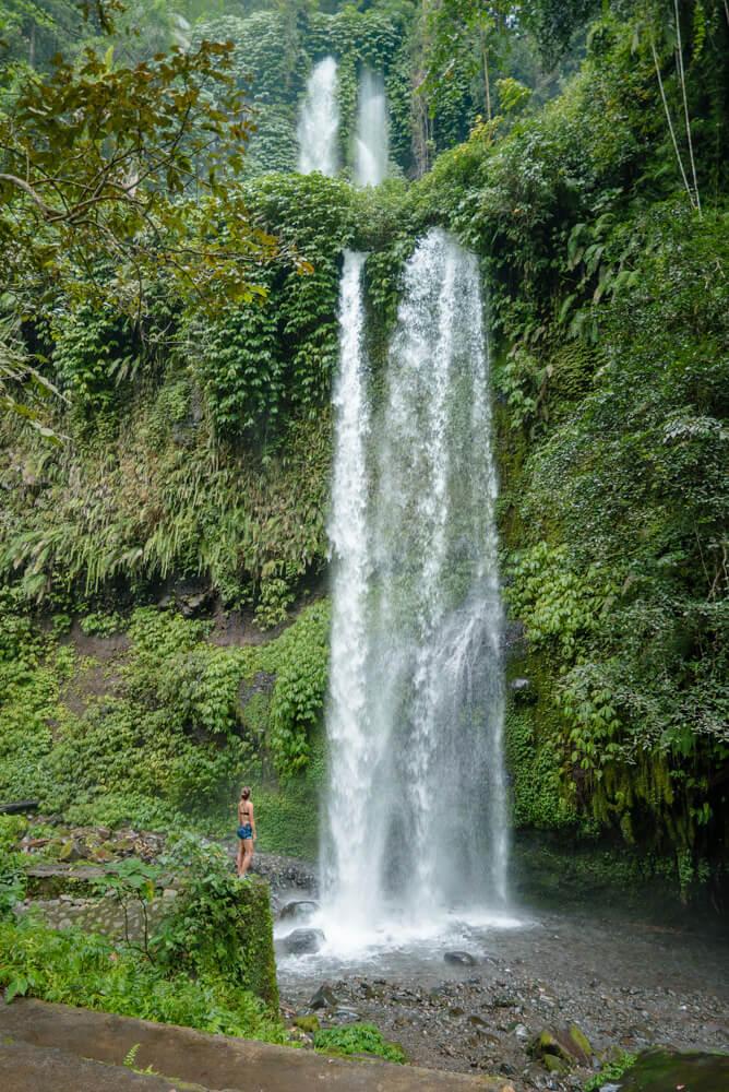 Sendang Gile lombok Indonesia