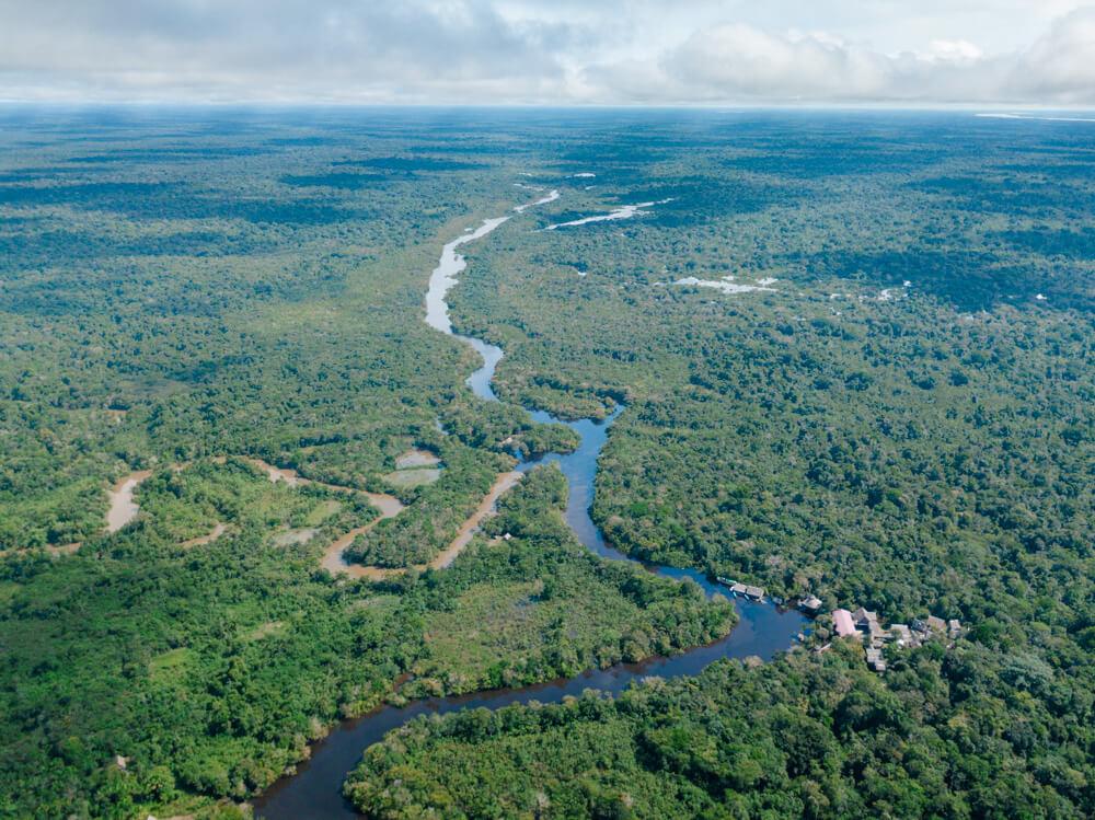 amazon peru itinerary