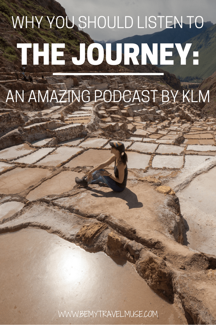 Need something to fuel your wanderlust? I recently listened to The Journey, a travel podcast by KLM, and LOVE their selection! Click to find out why | Be My Travel Muse | Podcasts for women | motivational podcasts