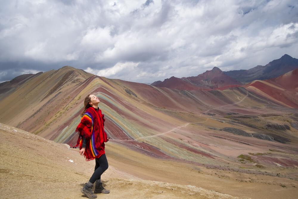rainbow mountain peru itinerary