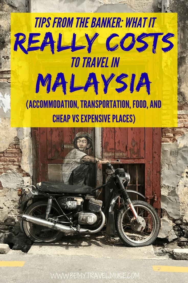 An honest breakdown on the cost of traveling Malaysia, from accommodation, transportation, food to other expenses. This article will help you plan the best trip to Malaysia! #Malaysia #MalaysiaTravelTips
