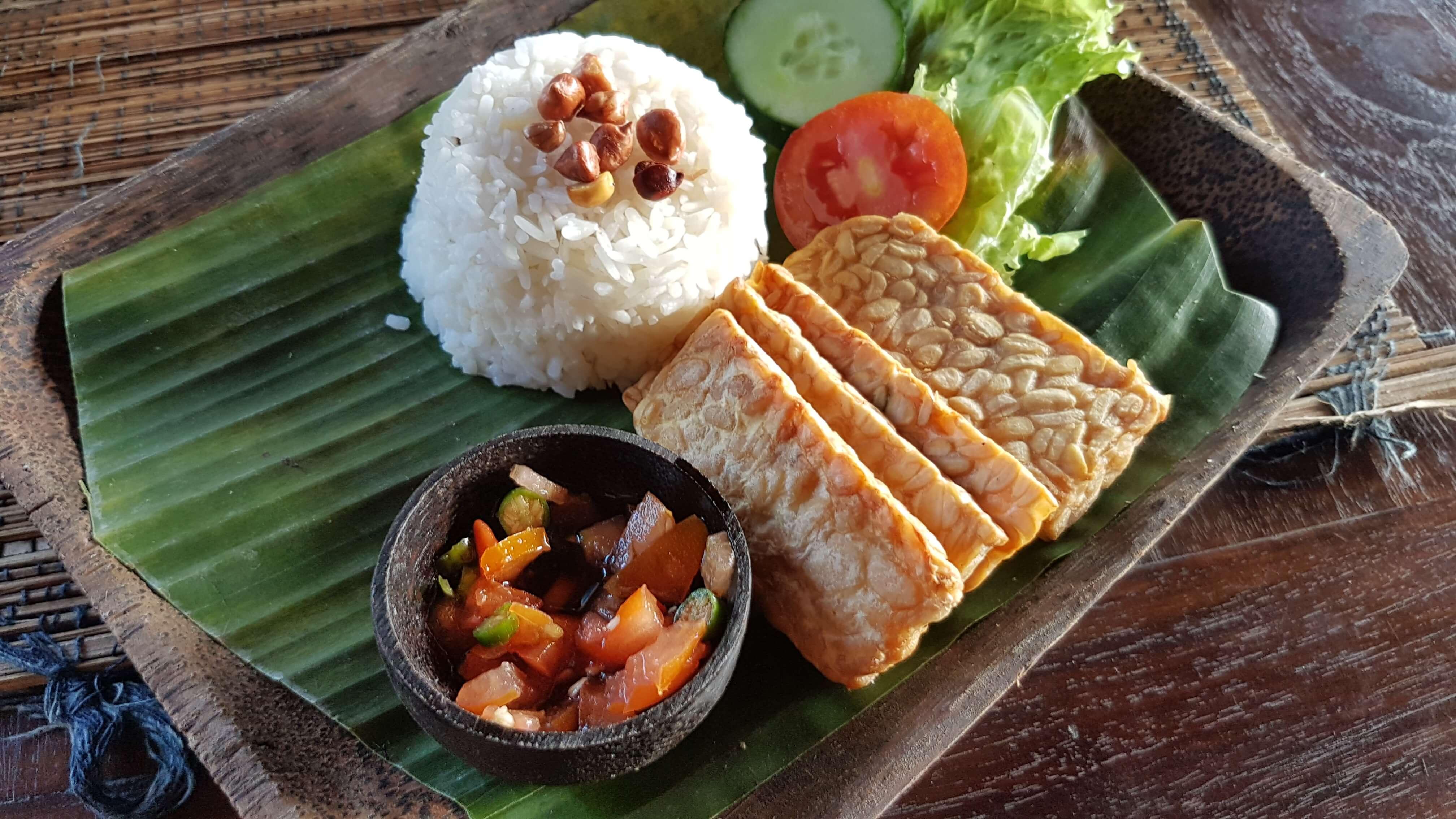 vegan food bali