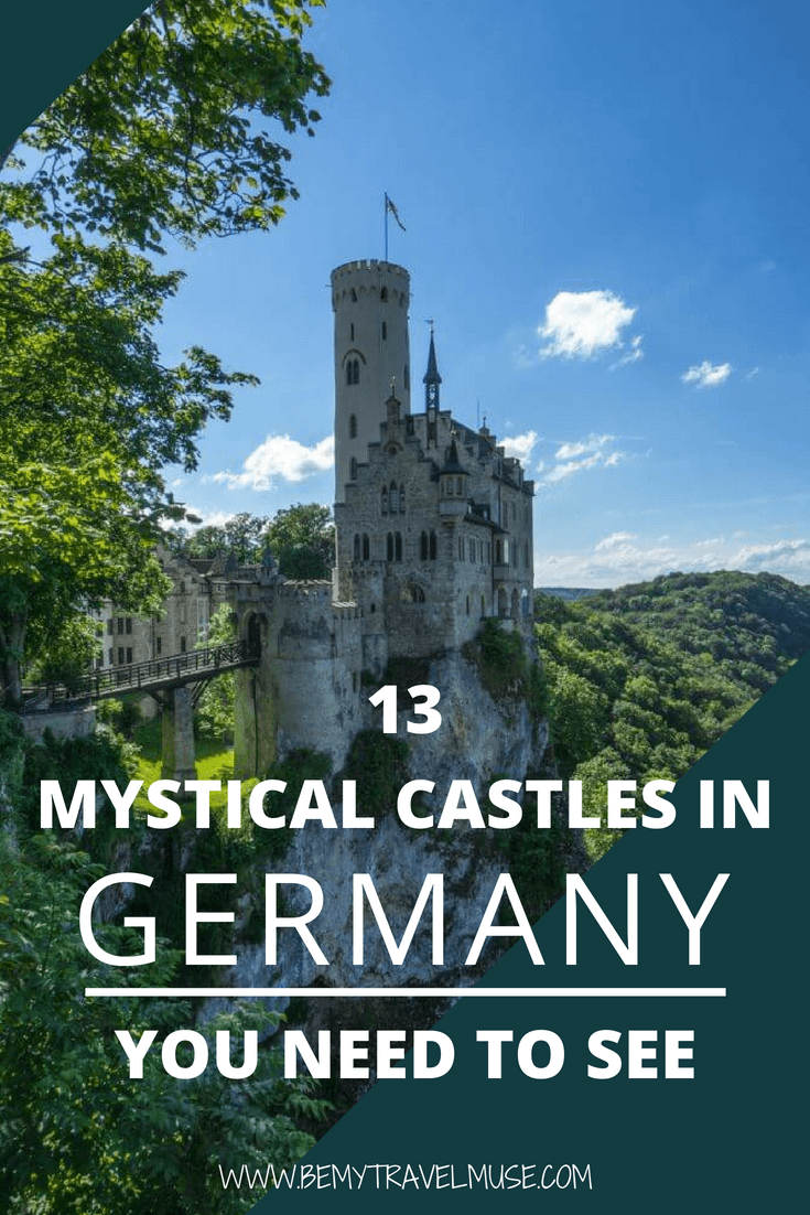 Here are 13 of the most mystical castles in Germany you need to see! If you like castles, you definitely need to visit Germany. I've spent many weekend trips looking over some of the dreamiest castles I've ever seen. In this post, I asked a few travel bloggers to share their favorite so check it out! #Castles #Germany