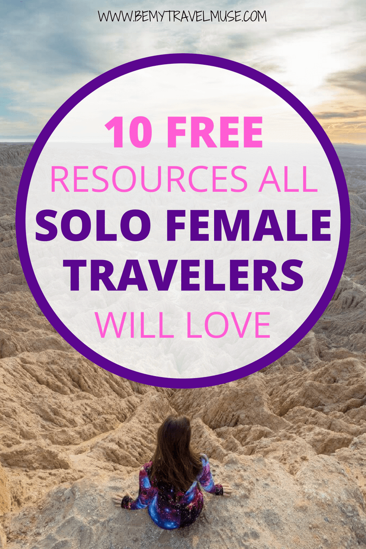 Here are 10 free resources for solo female travelers that you will absolutely love. From the essentials like packing lists, workout routines and travel hacking tips, to the best podcasts, playlists, and an amazing community to meet other solo female travelers! #SoloFemaleTravel #SoloFemaleTravelTips #SoloFemaleTraveler