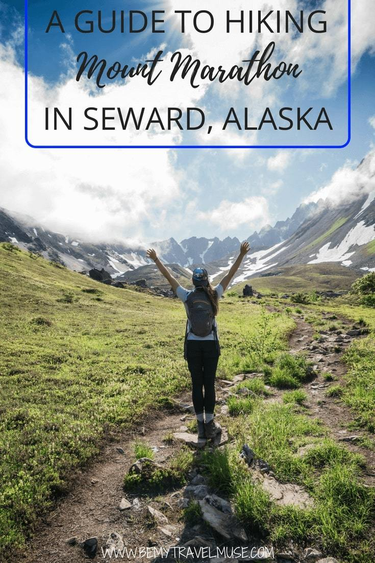 Planning to hike Mount Marathon in Alaska? Here's everything you need to know that will help you plan your hike in Seward, Alaska. #MountMarathon #Seward #Alaska