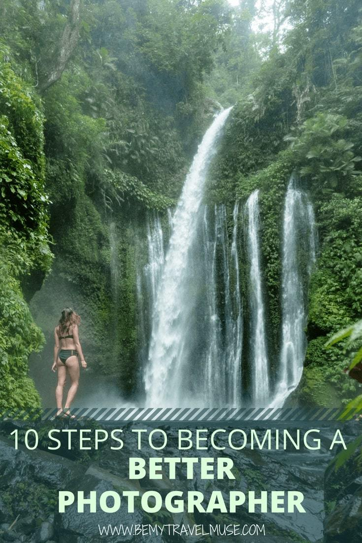 With these 10 steps, you will become a better photographer and improve your photography skill. I've spent years working on mine, attending photography courses and practicing on a daily basis, and I am sharing everything I know about photography in this article. Check it out! #Photography #PhotographyTips