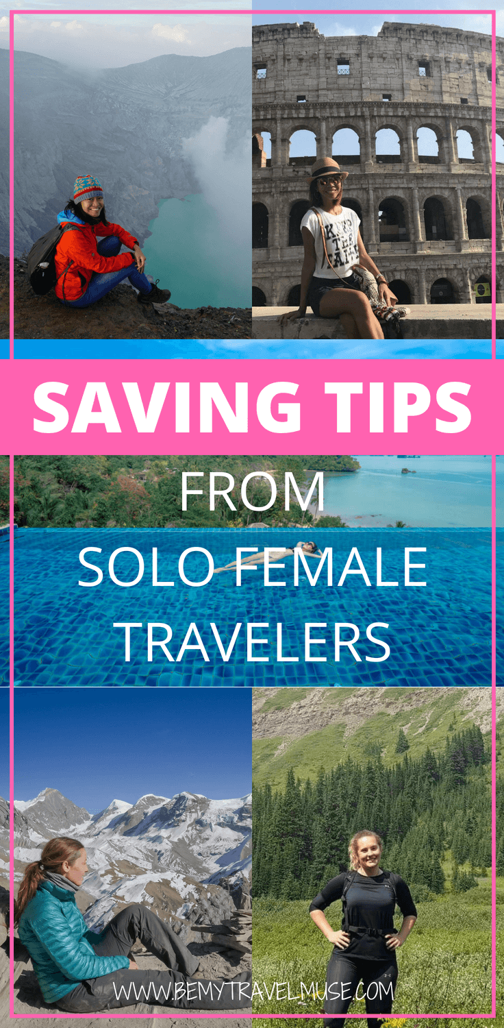 Check out these best saving tips from solo female travelers who did travel hacking, accommodation exchanging, and saving up on minimum wage to fund their travels. This post filled with practical saving tips will inspire you to do the same! #SavingTips #Travelfunds #Solofemaletravel