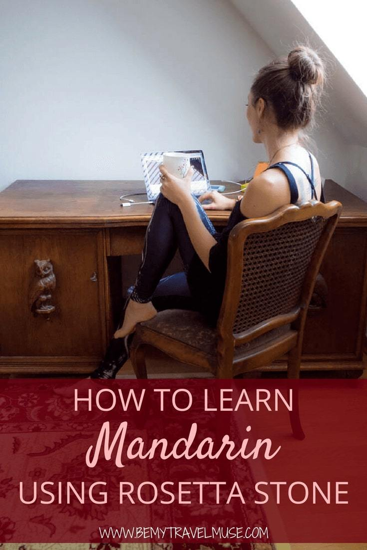 How to learn mandarin (or any other language) online and from home - an honest review of Rosetta Stone.