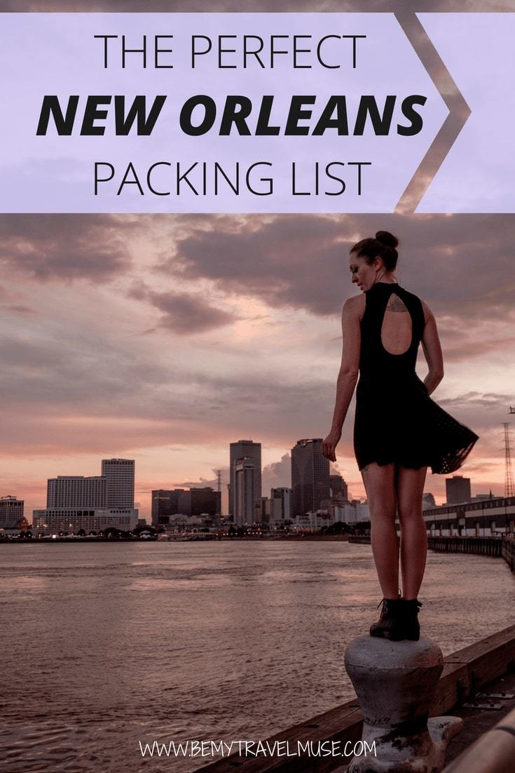 This perfect packing list for New Orleans will help you pack light and stylishly for your next trip to New Orleans!