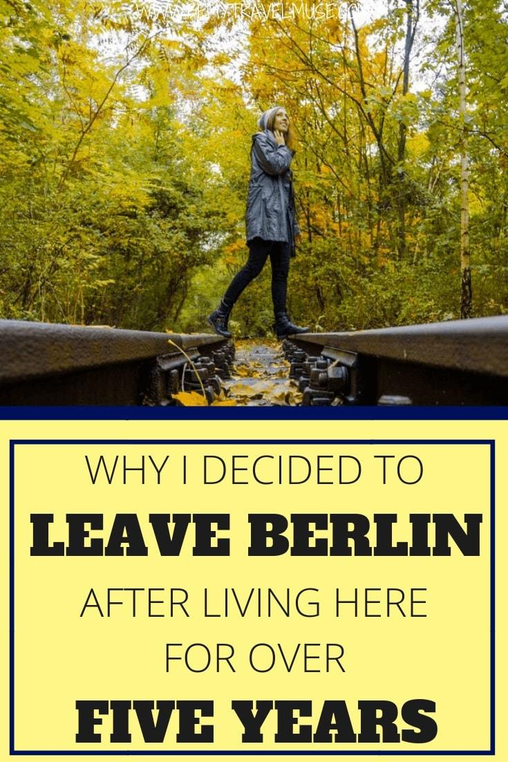Click to read why I decided to leave Berlin after obtaining my artist visa and living here for over 5 years.