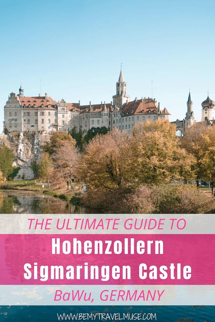 Looking for a good stop as part of your day trip from Stuttgart, Germany? Check out Hohenzollern Sigmaringen Castle! Located in Baden-Wüttemberg, this gothic castle is one of the largest and grandest I've ever laid eyes on. Click to read a full guide to help plan your trip!