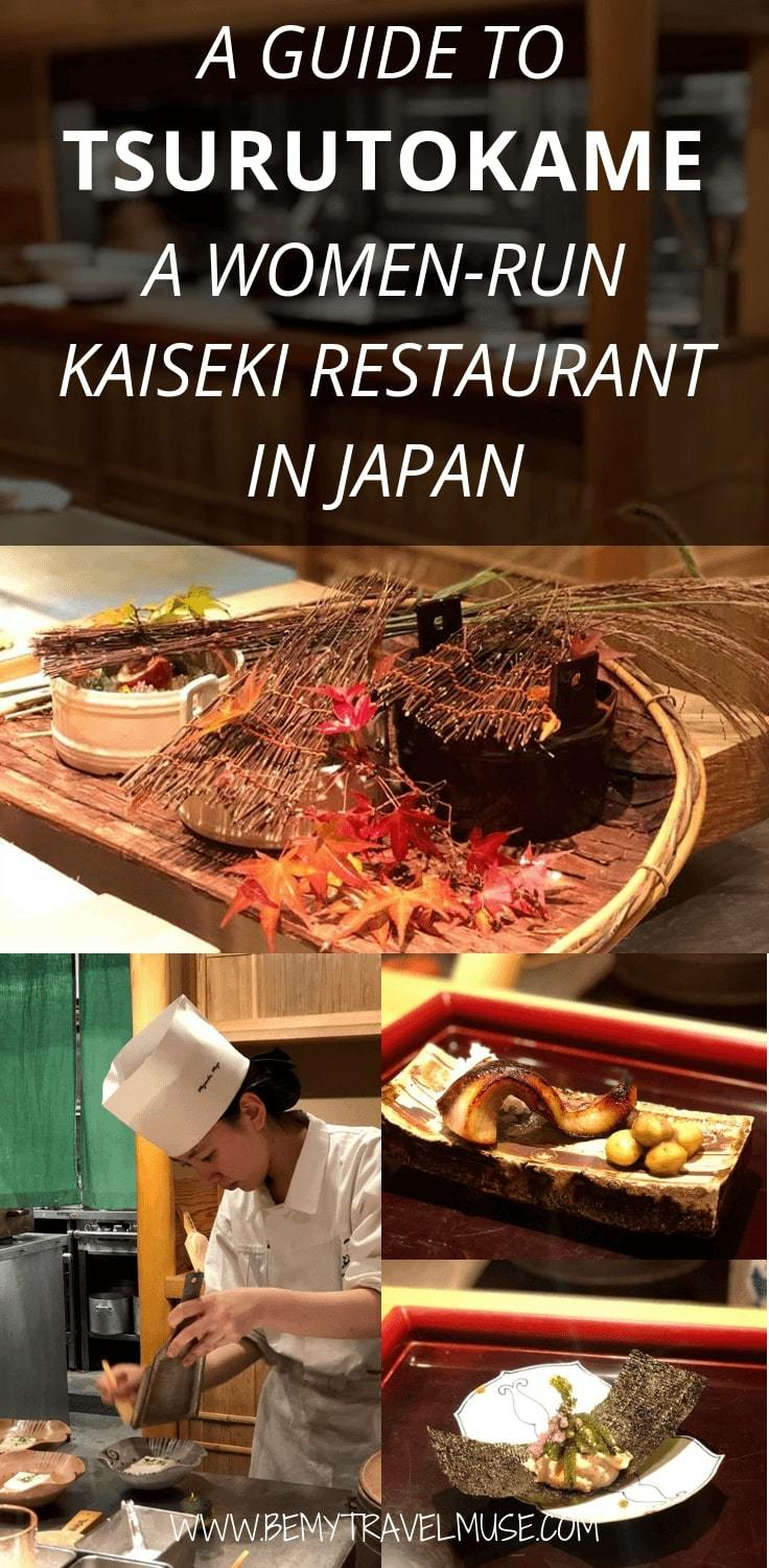 If you are looking for a unique dining experience in Tokyo, Japan, check out Tsurutokame, a all-women kaiseki restaurant located in Ginza. Click for more visuals and my overall experience! #KaisekiCuisine #Kaiseki #Ginza #Tokyo