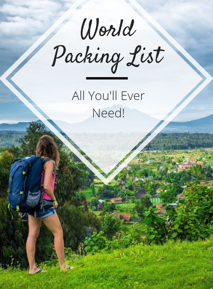 world packing list
