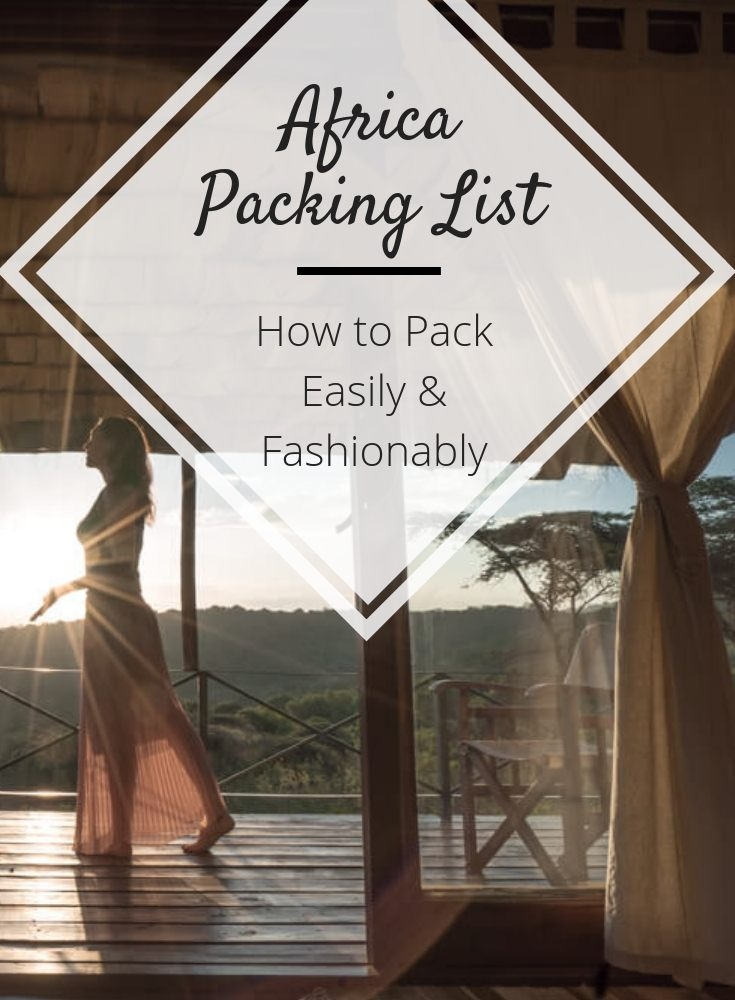 africa packing list