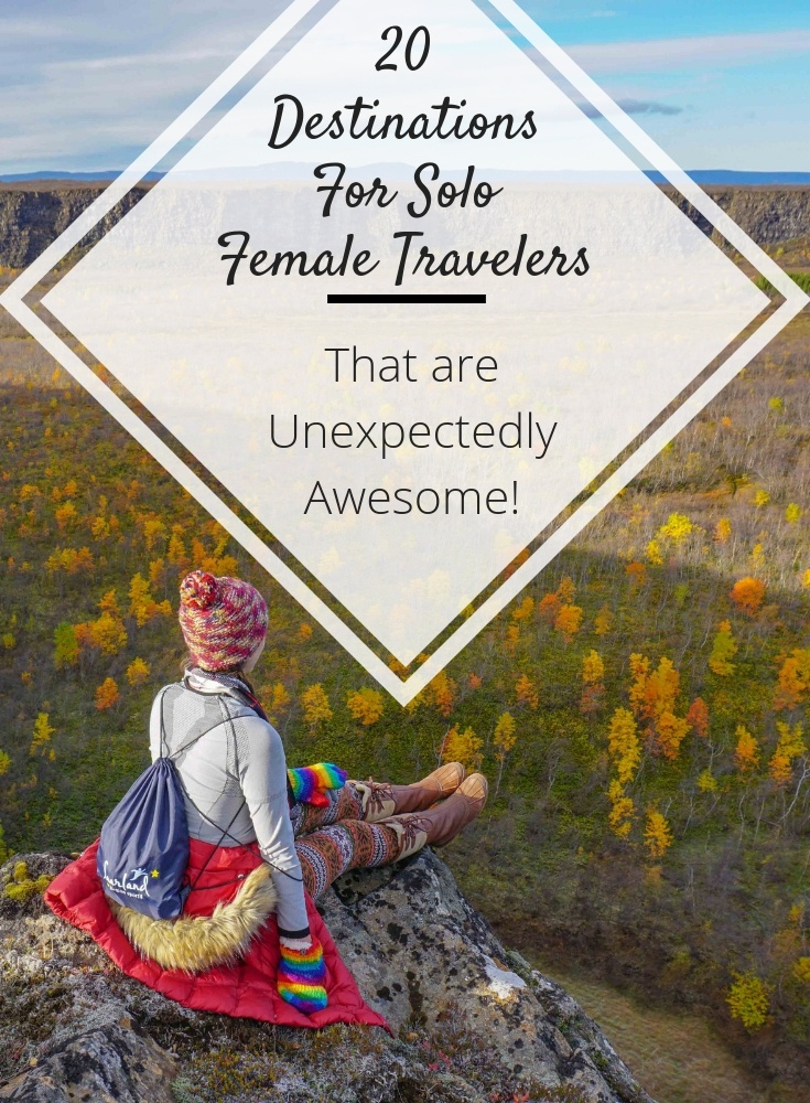 Solo Female Traveler destinations