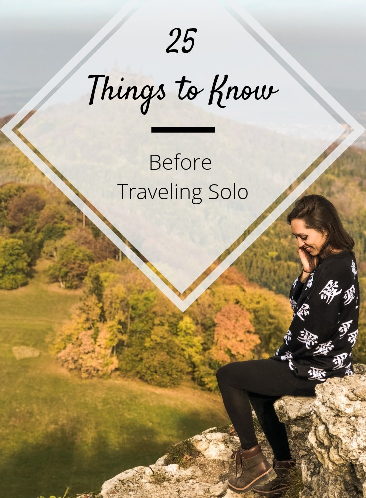 what to know before traveling solo