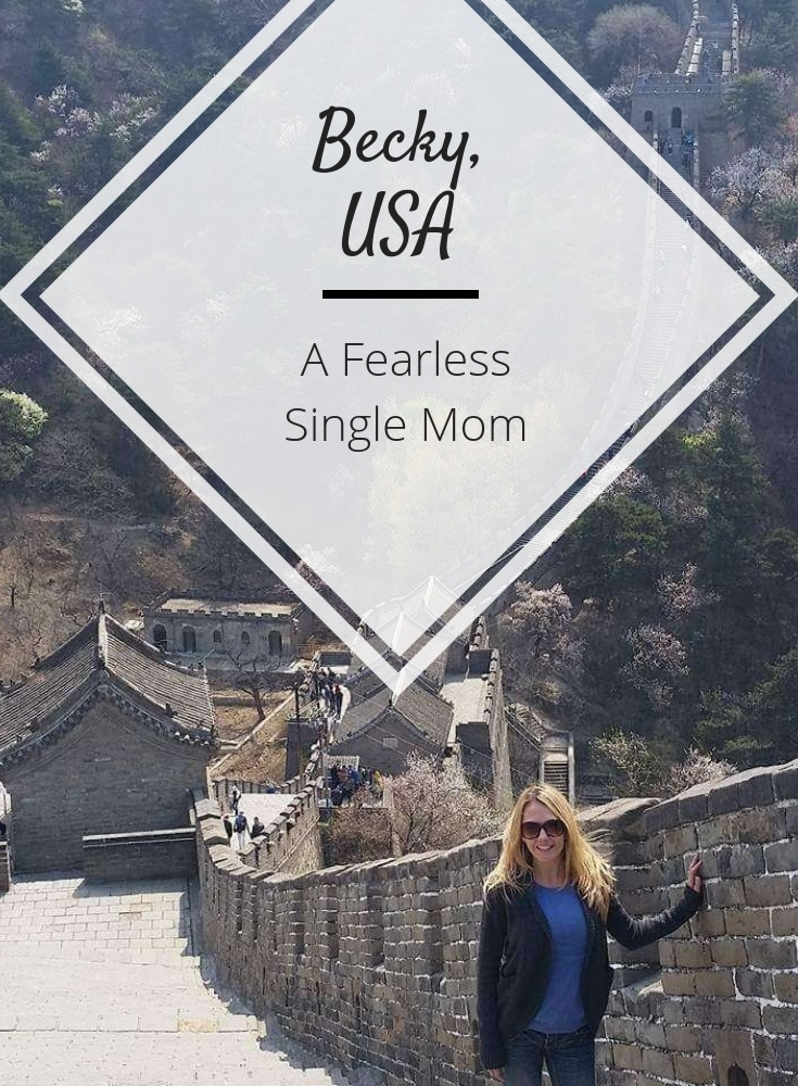 solo female traveler single mom