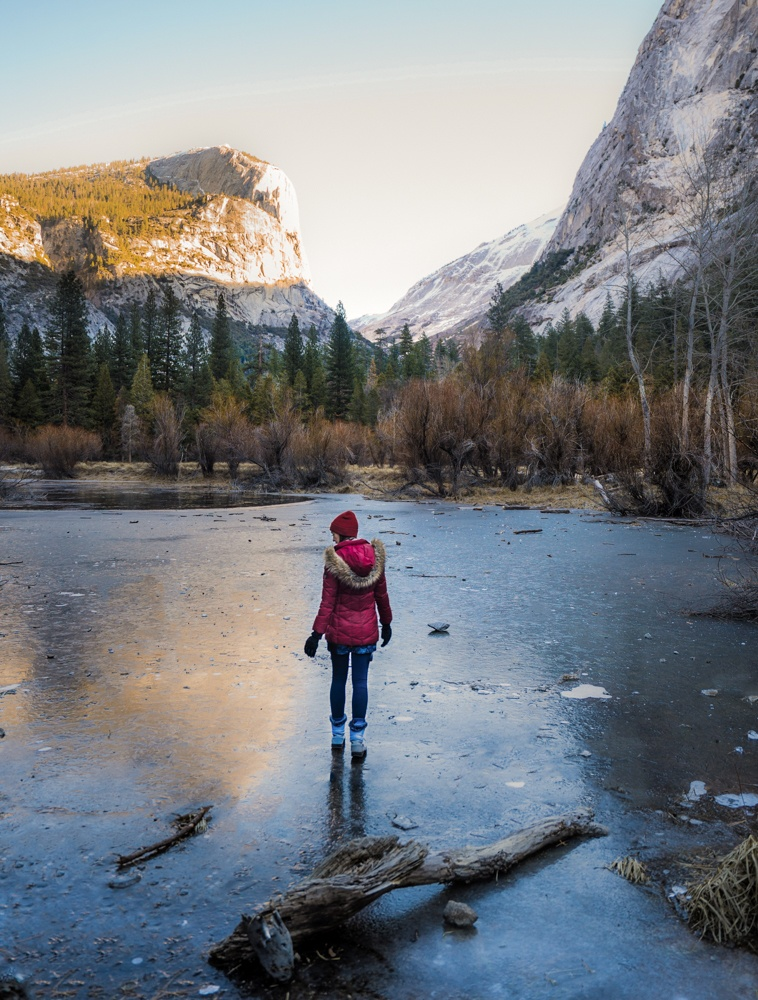 yosemite winter hikes