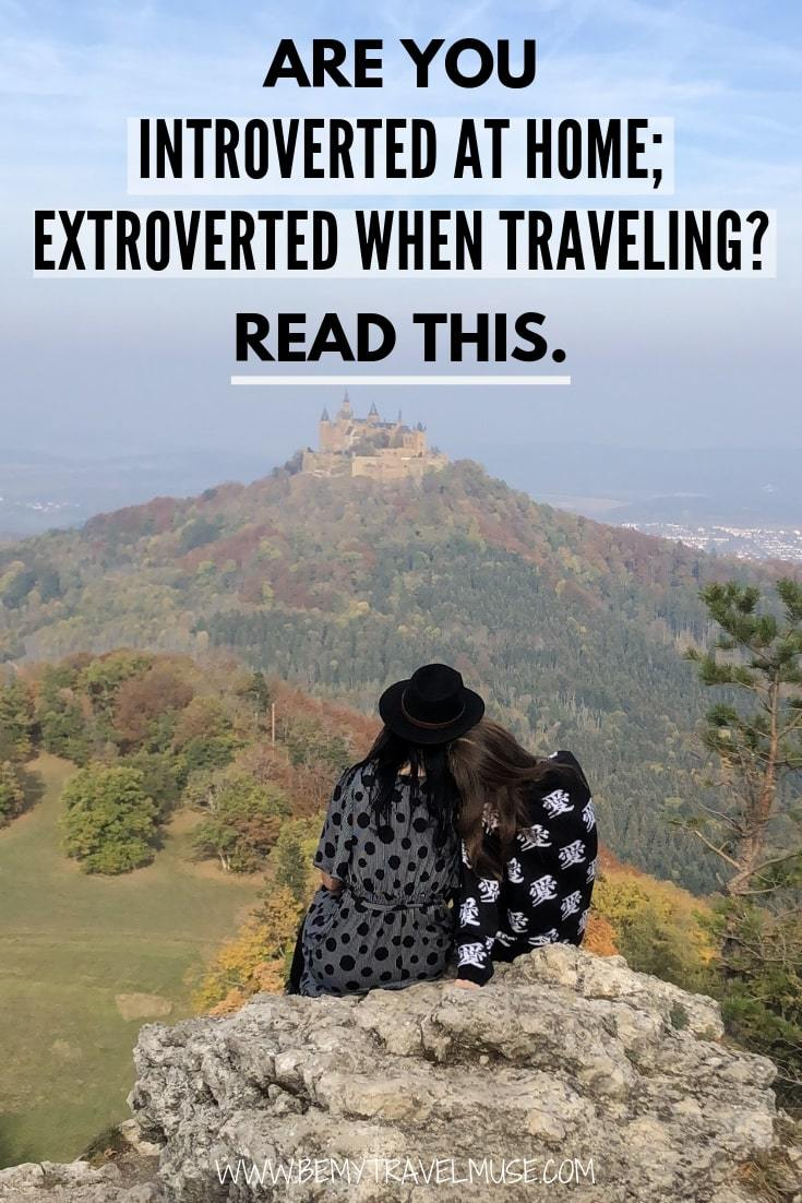 Are you introverted at home, and extroverted when you travel? Read this! #SoloTravel #Introverts