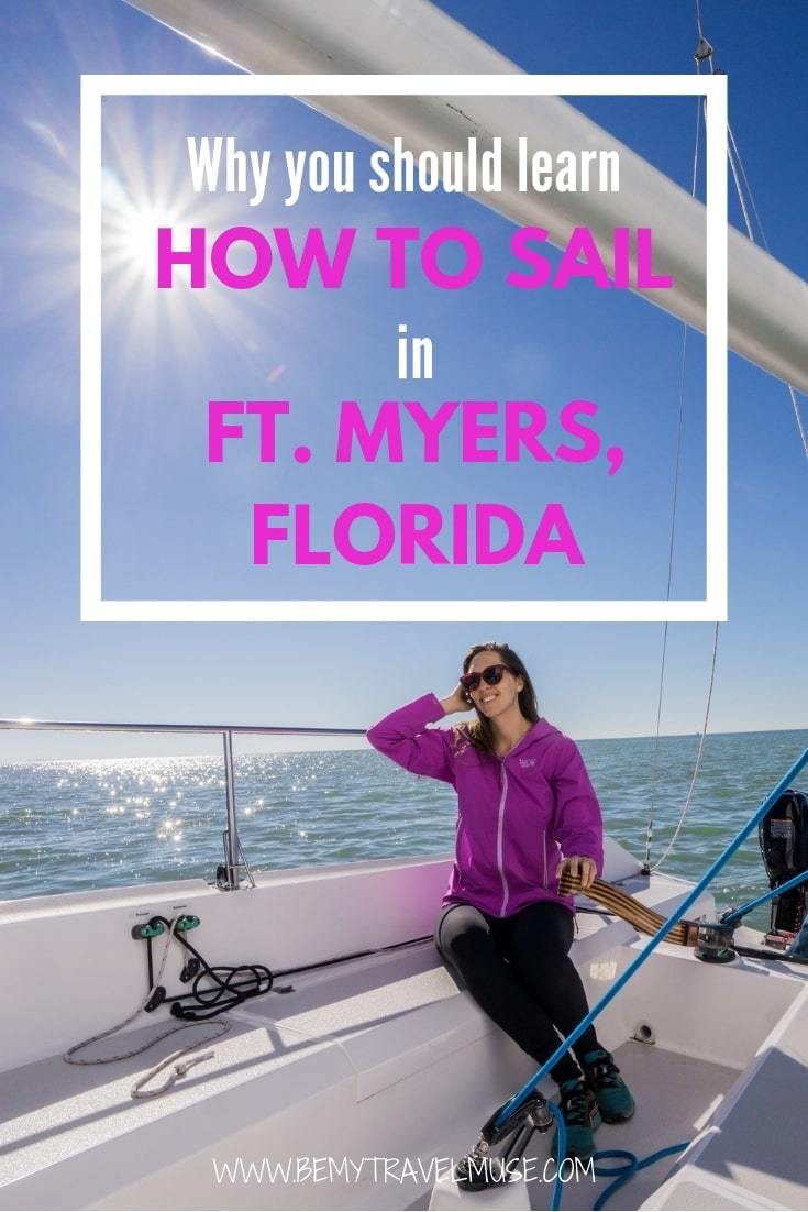 Here's my full experience learning how to sail in beautiful Fort Myers, Florida, and why you should pick this place if you are interested in learning how to sail and operate a boat, too!