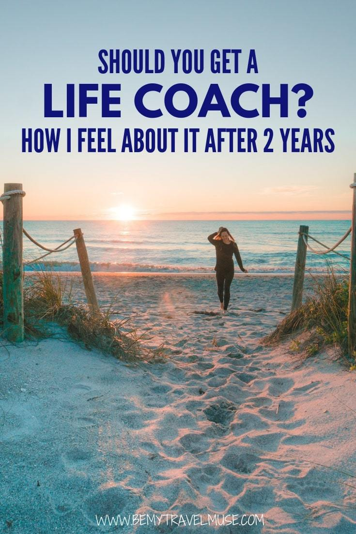 Instead of going for therapy, I decided to get a life coach and here's how I feel about it after 2 years. #LifeCoach