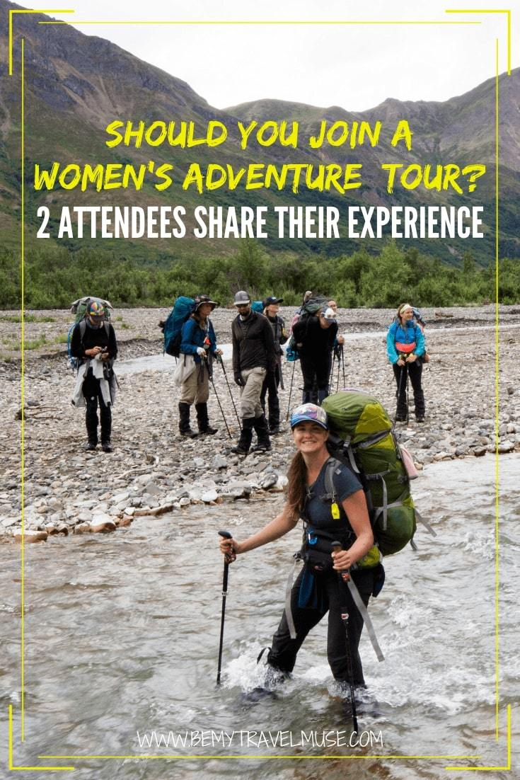 Should you join a women's adventure tour, especially if you are a new or beginner solo female traveler? Two attendees of the BMTM Women's tours share their experience to show you what is it like joining a women's group tour. #SoloFemaleTravel