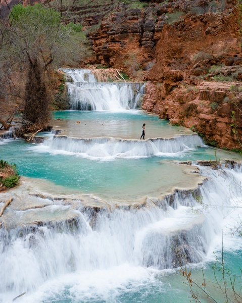 Home.fit havasu-falls-hike-5 The Best American Southwest Road Trip Itinerary